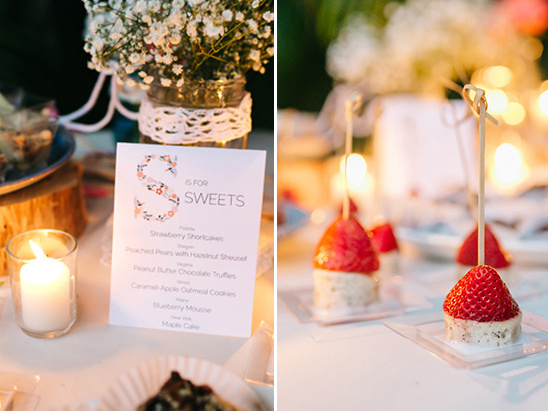 vegan wedding desserts @weddingchicks