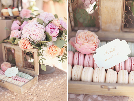 macarons @weddingchicks