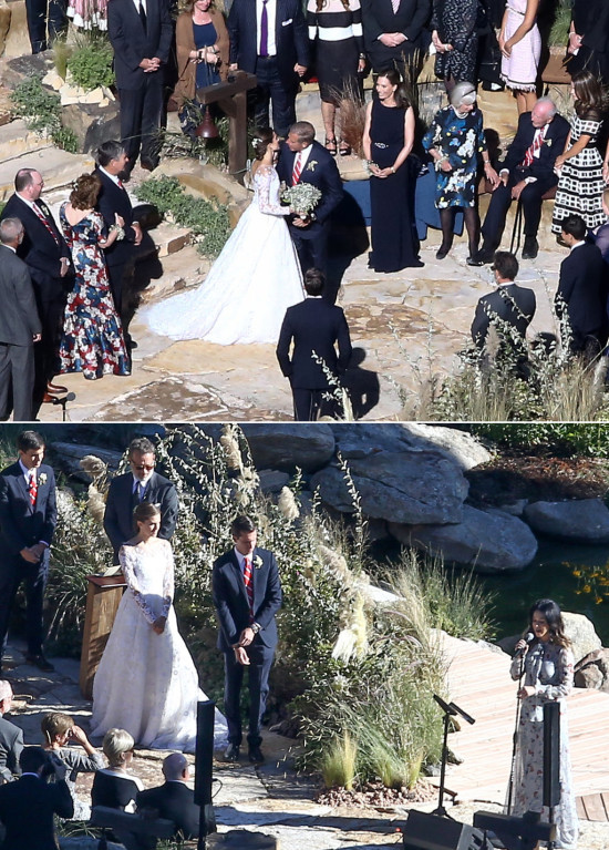 Allison Williams wedding @weddingchicks