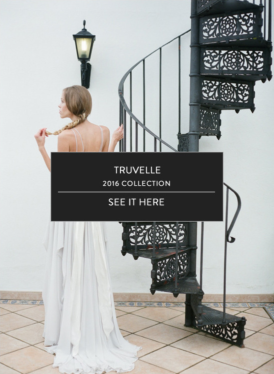 Truvelle dress collection here @weddingchicks