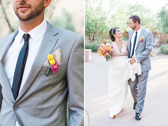 gray groom suit @weddingchicks