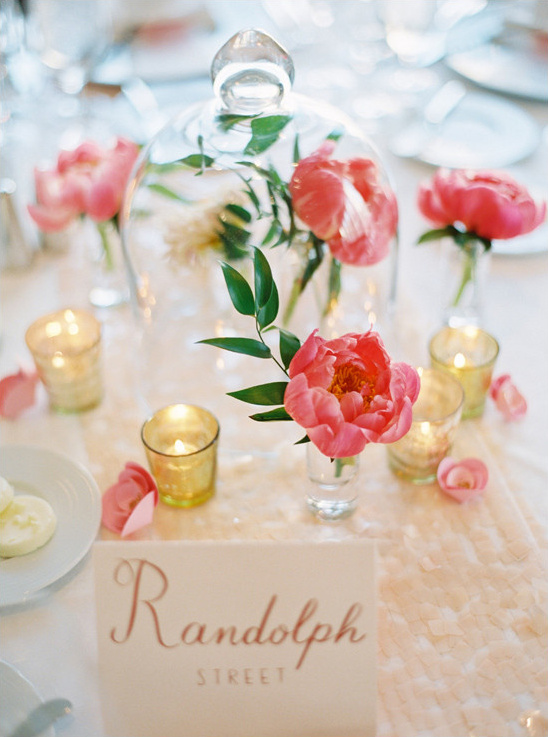 table centerpiece ideas @weddingchicks