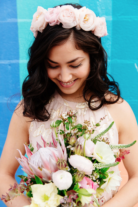 Win a custom flower crown from Kerry Ann Stokes! @weddingchicks
