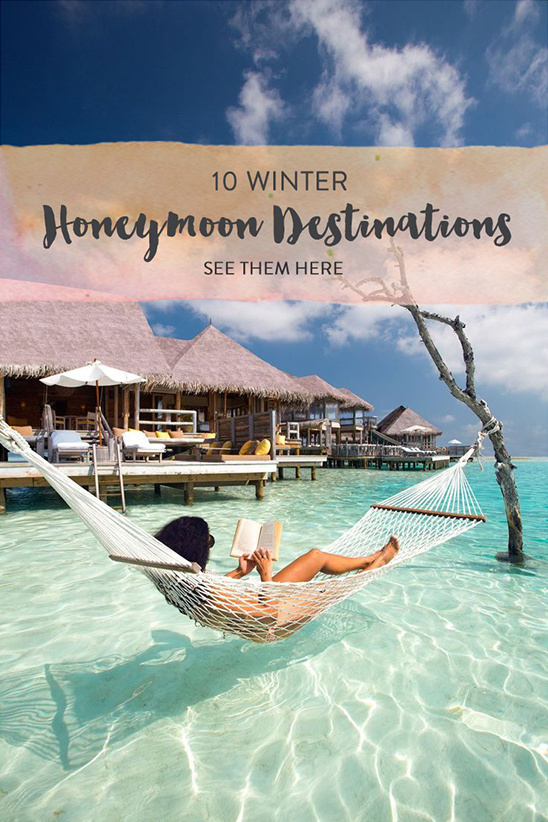 honeymoon destinations @weddingchicks