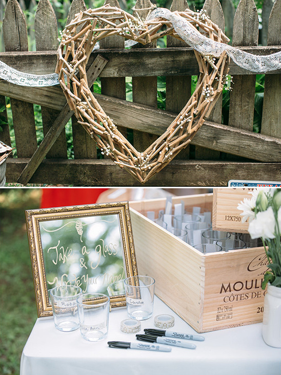 shabby chic decor @weddingchicks
