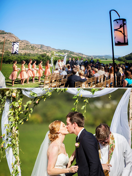 outdoor wedding @weddingchicks