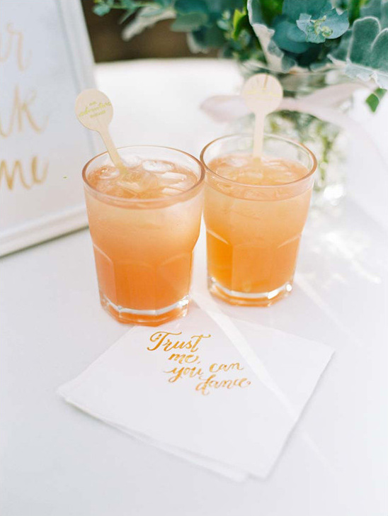wedding drinks @weddingchicks