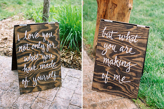 wedding signs @weddingchicks