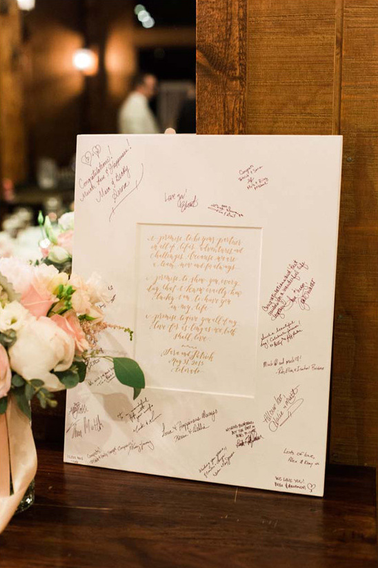 guest book idea @weddingchicks