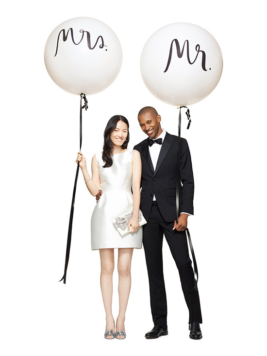 Mr and Mrs Balloons by Kate Spade