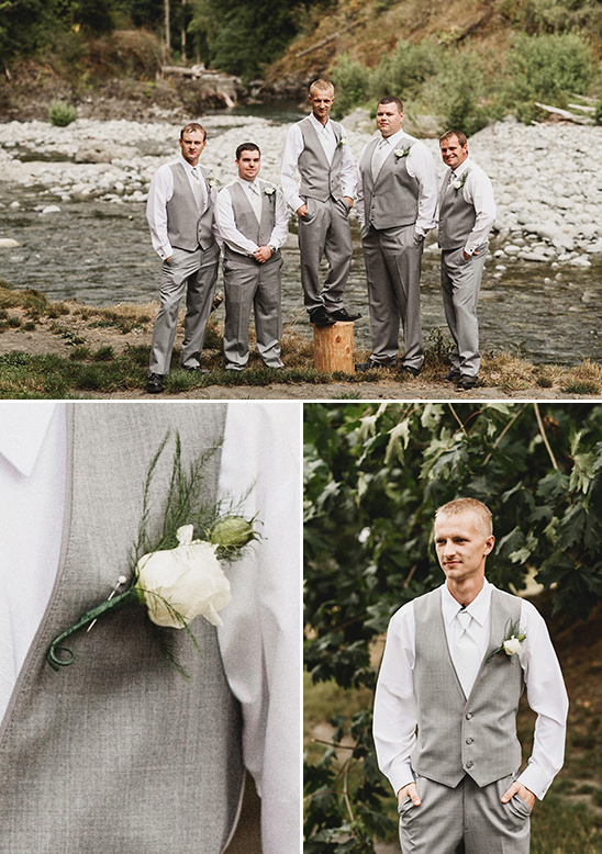 groomsmen in grey @weddingchicks