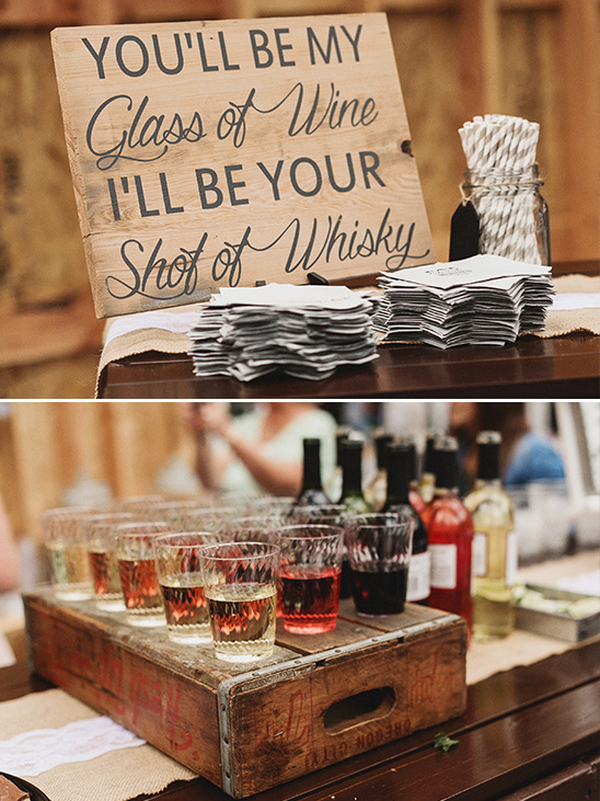 wedding bar details @weddingchicks