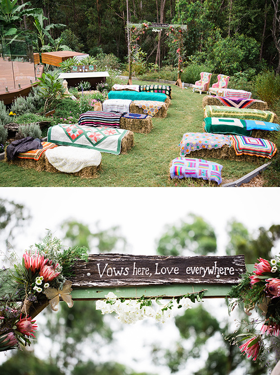 indie wedding ceremony @weddingchicks