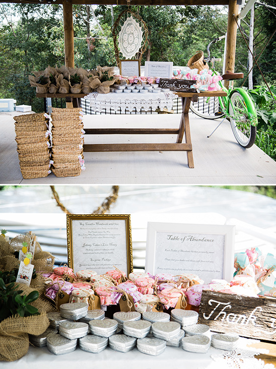 wedding favors table @weddingchicks
