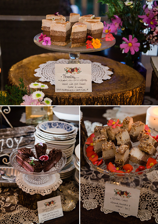 wedding desserts @weddingchicks