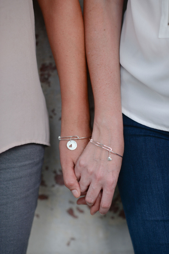 Mother/Daughter Bracelets from Erin Pelicano Jewelry @weddingchicks