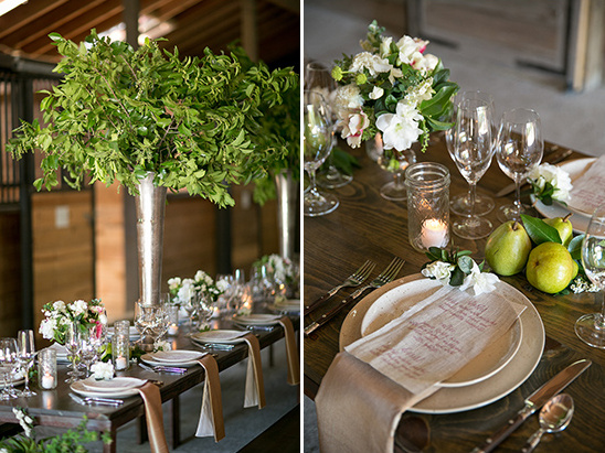 rustic table decor @weddinghicks
