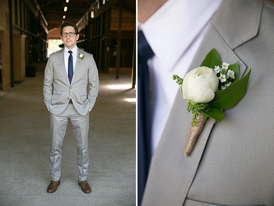 dashing grey groom @weddinghicks