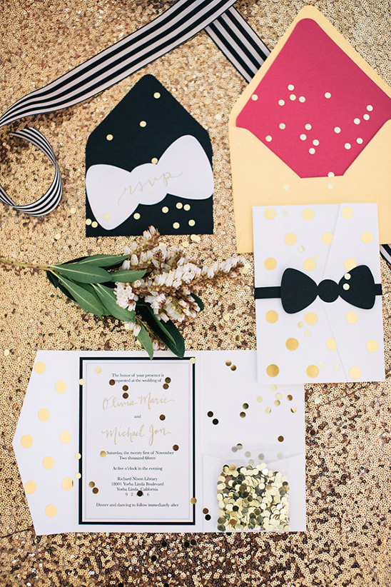 kate spade invitation suite @weddingchicks