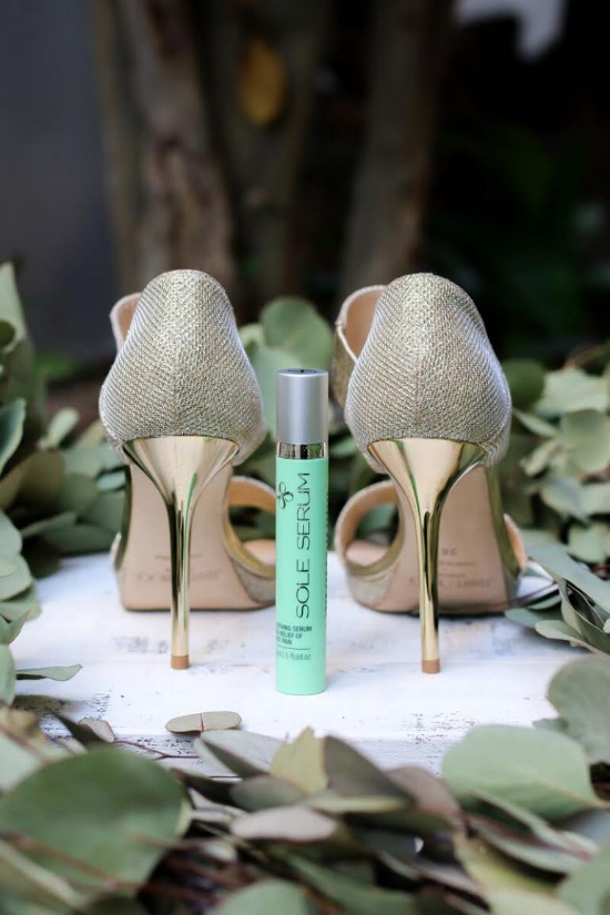 Sole Serum foot pain relief @weddingchicks