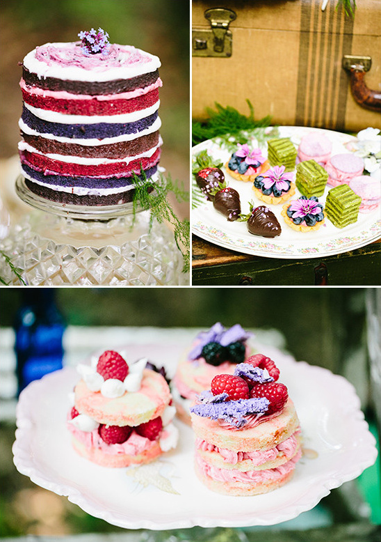 assorted desserts @weddingchicks
