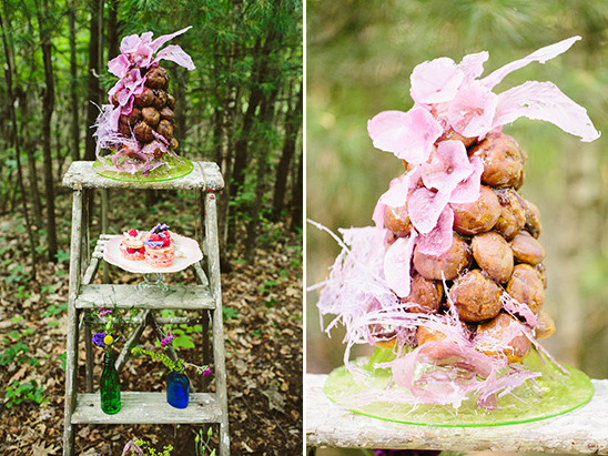 rustic dessert display @weddingchicks