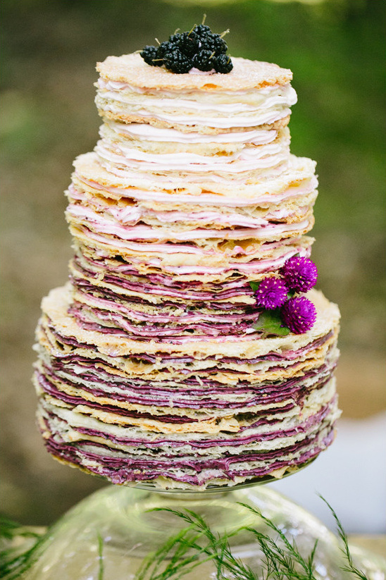 ombre cake @weddingchicks