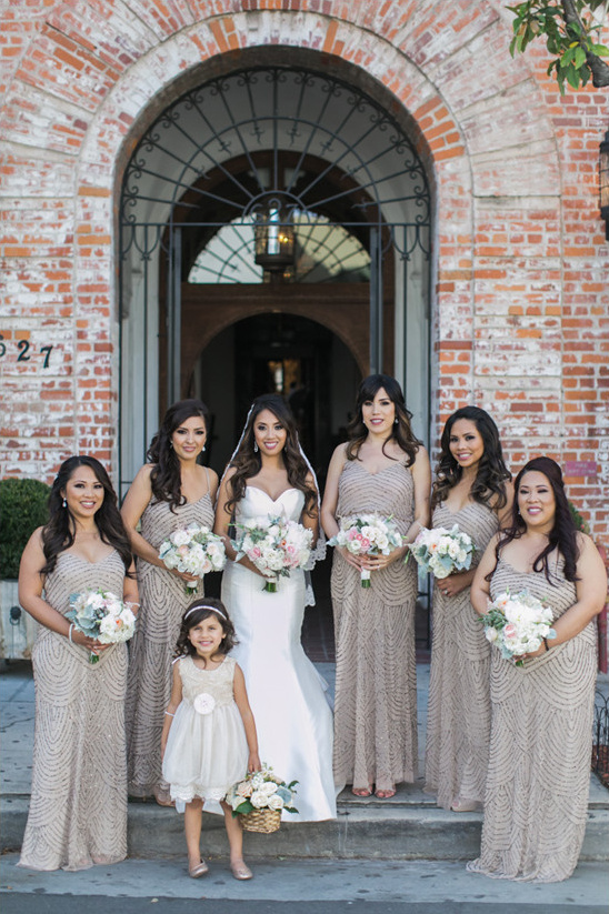 adrianna papell bridesmaid dresses @weddingchicks