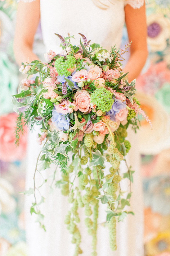 pastel bouquet @weddingchicks