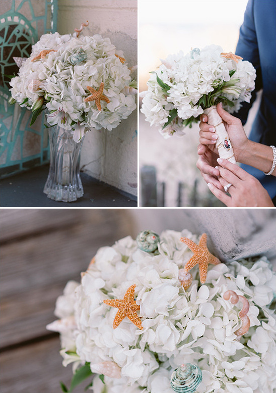 beach bouquet @weddingchicks
