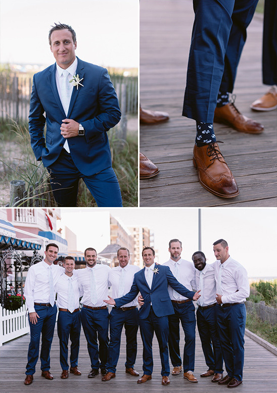 beach blue groom look @weddingchicks