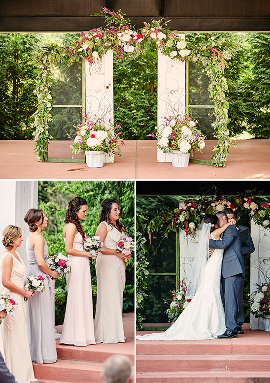 Chic Vintage Winery Wedding