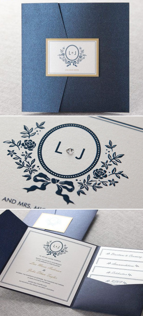 B Wedding Invitations @weddingchicks