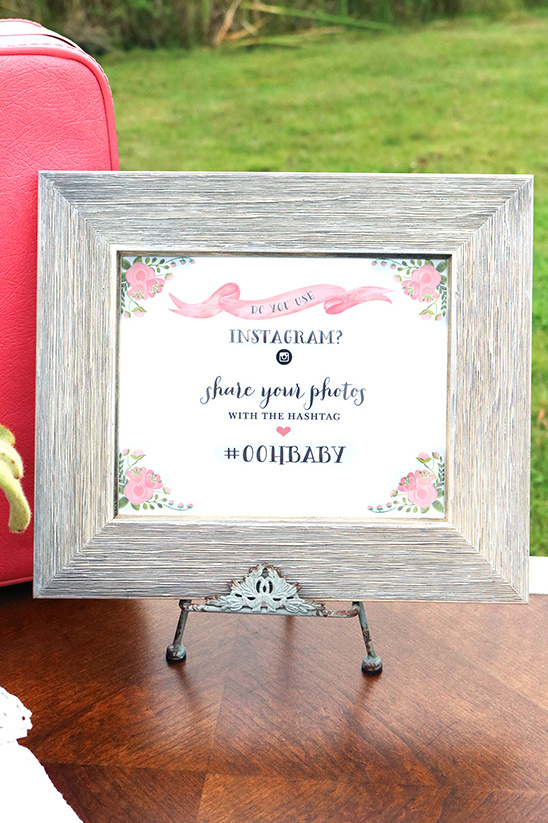 wc printable instagram sign @weddingchicks