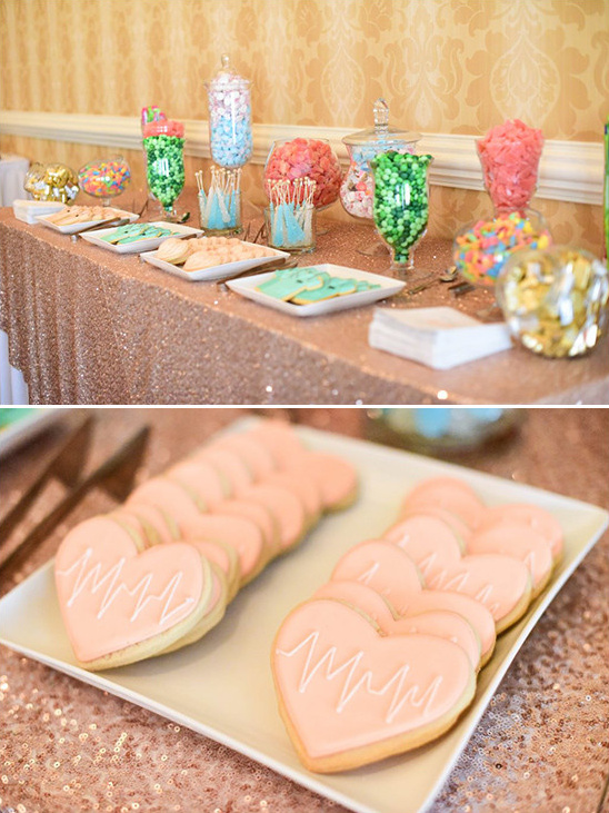 sweets table @weddingchicks