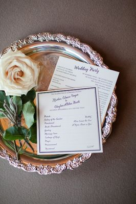 Gold and White Glam Wedding