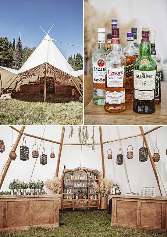 bar tent @weddingchicks