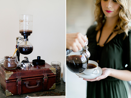 coffee details @weddingchicks