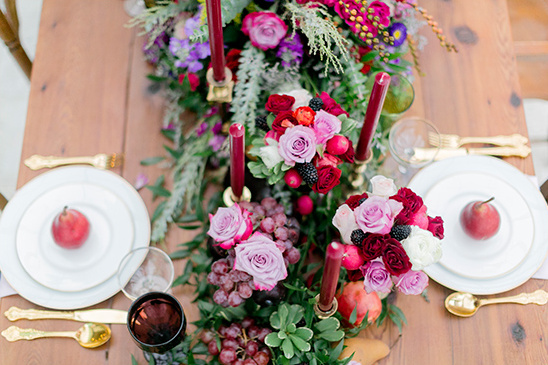 brunch centerpiece @weddingchicks