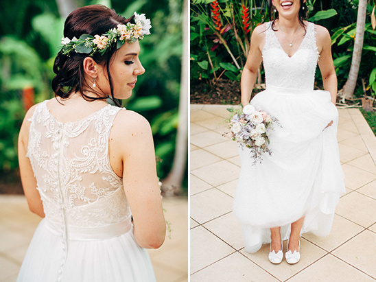 Beautiful Lace Wedding Gown Weddings