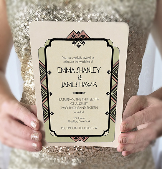 Gogosnap Vintage Wedding Invitations @weddingchicks