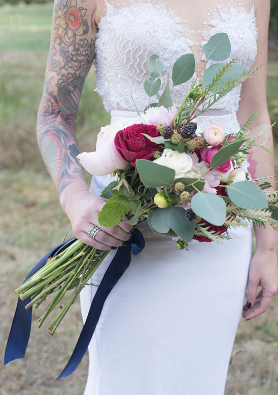 bridal bouquet @weddingchicks