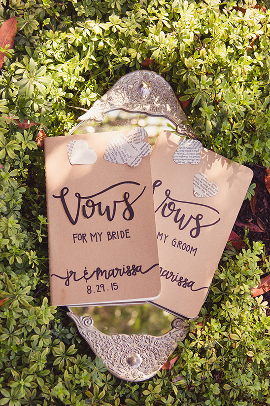 wedding vows book @weddingchicks