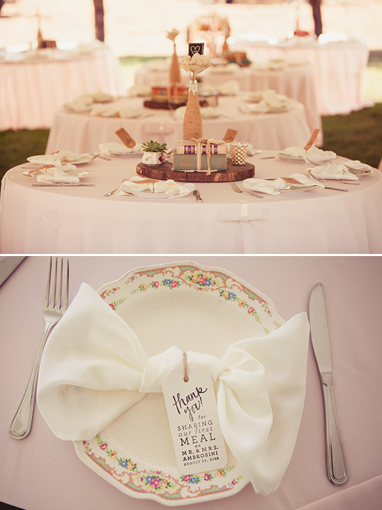 table decor details @weddingchicks