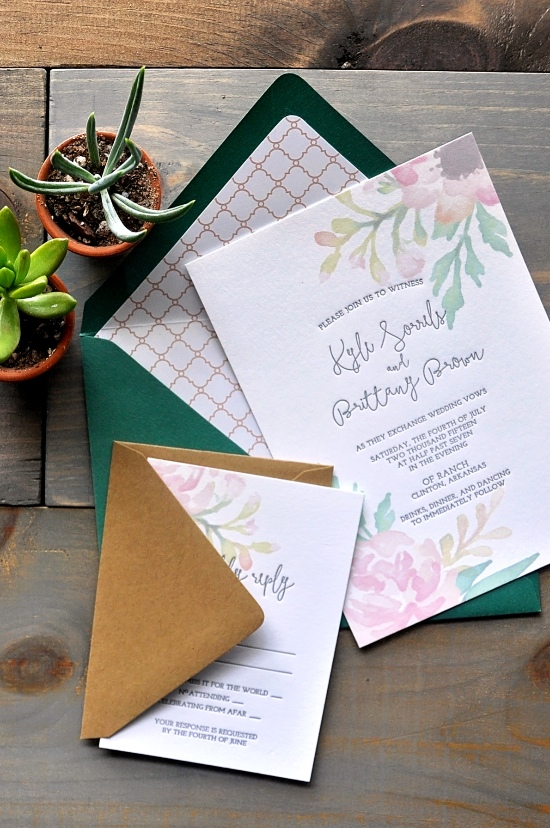 Darling + Pearl Letterpress @weddingchicks