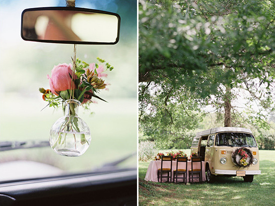 microbus wedding @weddingchicks