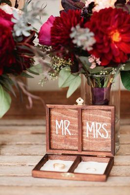 Red Fall Winery Wedding