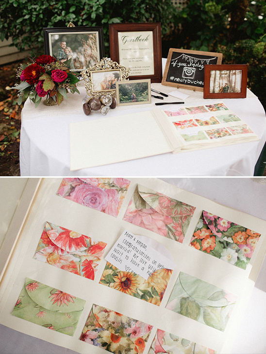 guest book table @weddingchicks