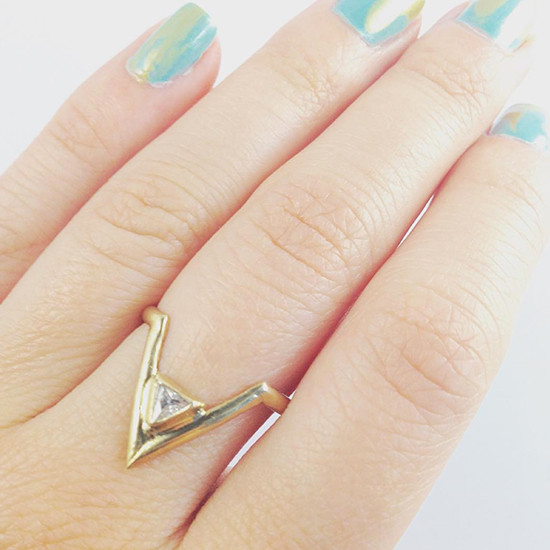 Unique and organic rings by Adriatic Jewelry @weddingchicks