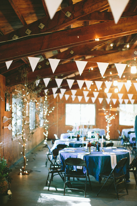 lodge wedding reception @weddingchicks